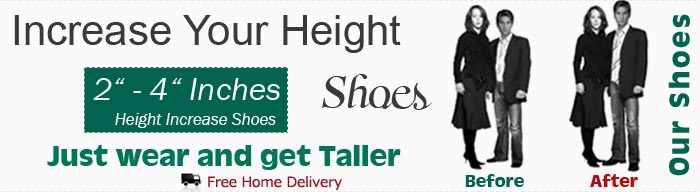 Elevator Shoes - Height Increasing Shoes