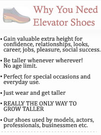 Why Elevator Shoes