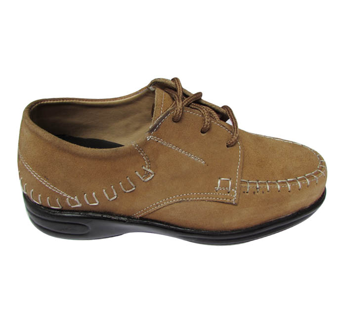 Camel Leather Elevator Shoes
