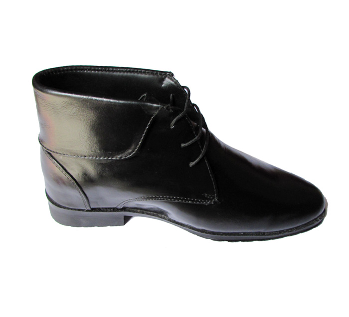 Leather Elevator Shoes For Increase Height
