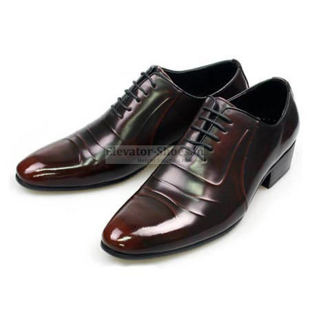 Hidden Heel Shoes For Groom